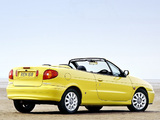 Renault Megane Cabrio UK-spec 1999–2003 images
