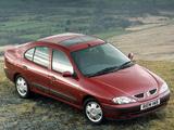 Renault Megane Classic UK-spec 1999–2003 images