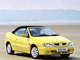Renault Megane Cabrio UK-spec 1999–2003 wallpapers