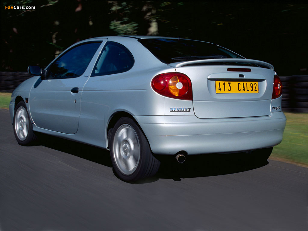 Renault Megane Coupe 1999–2003 wallpapers (1024 x 768)