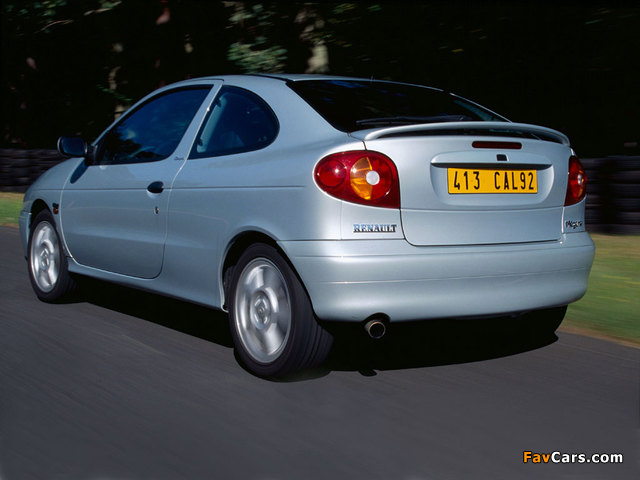 Renault Megane Coupe 1999–2003 wallpapers (640 x 480)
