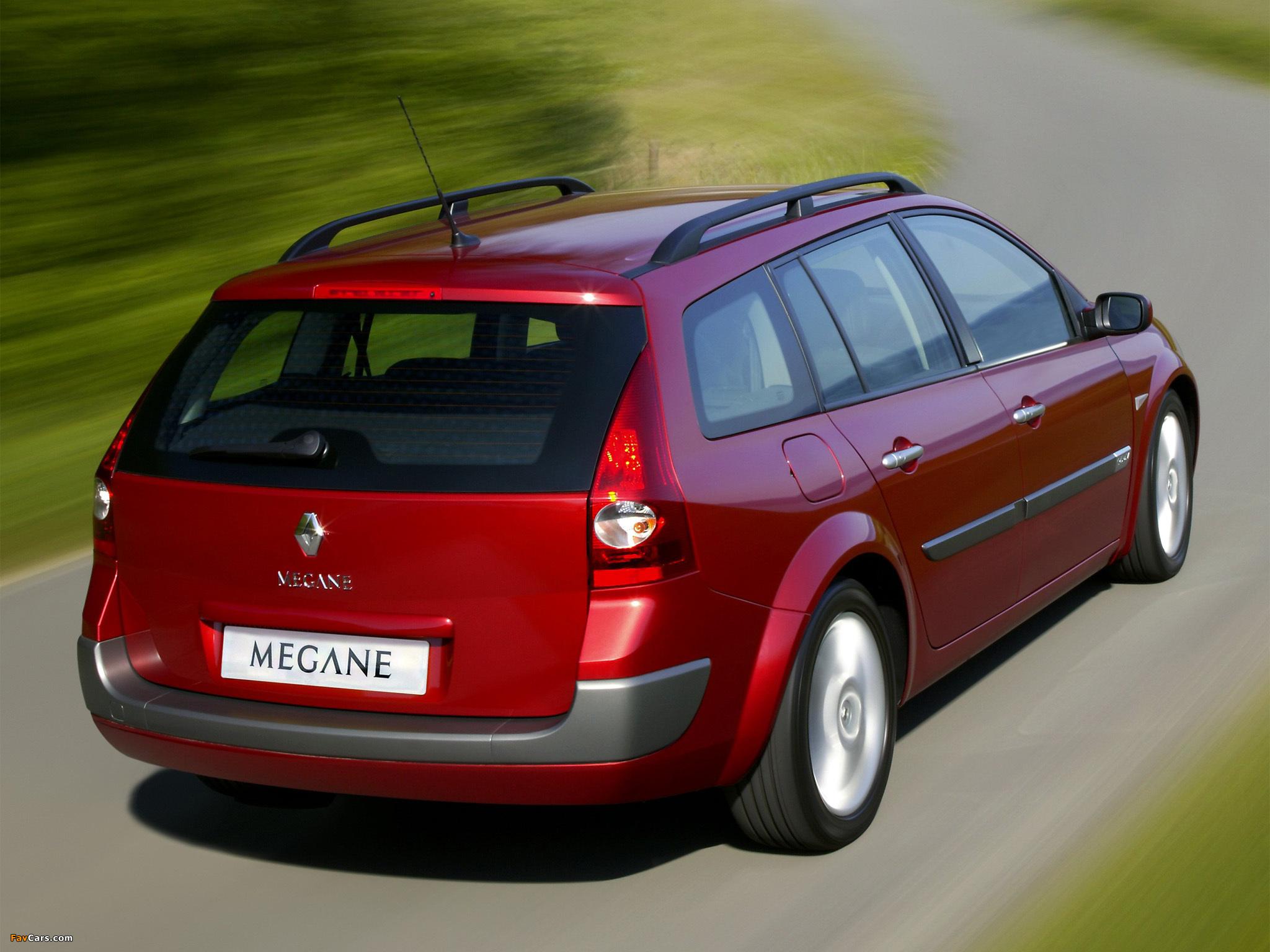 Renault Megane Grandtour 2003–06 photos (2048 x 1536)