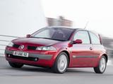 Renault Megane 3-door 2003–06 wallpapers