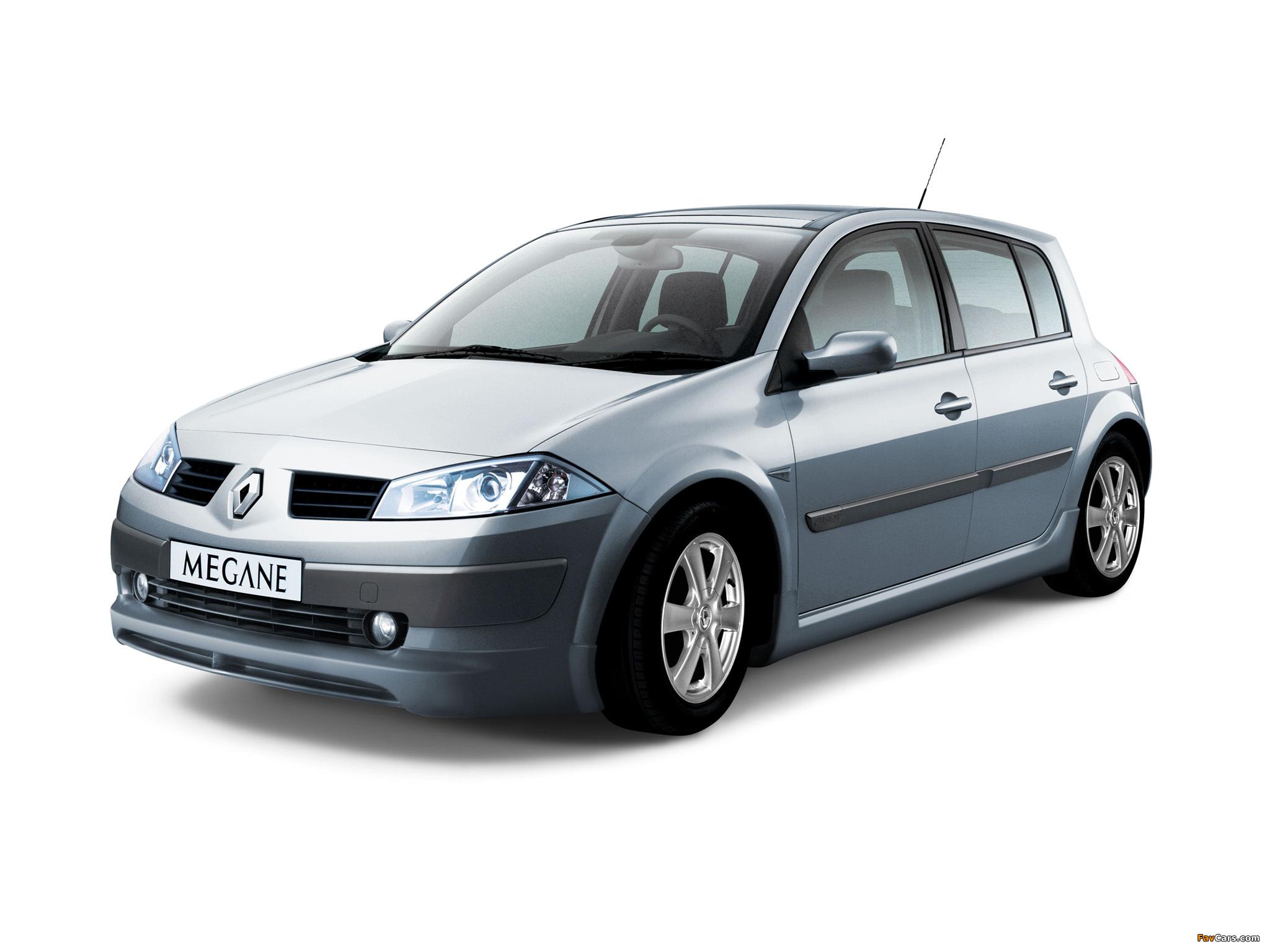 Renault Megane 5-door 2003–06 wallpapers (2048 x 1536)