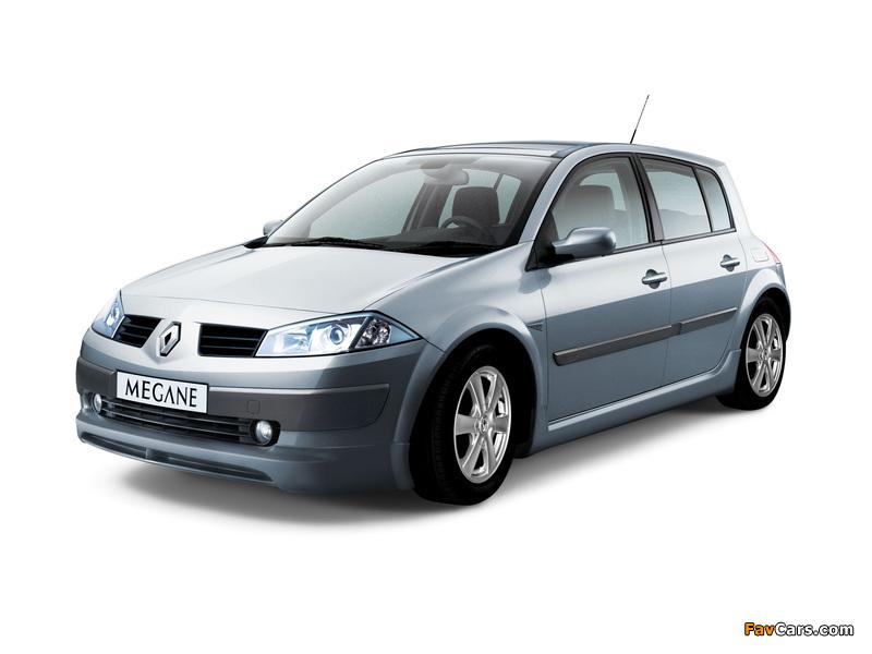 Renault Megane 5-door 2003–06 wallpapers (800 x 600)