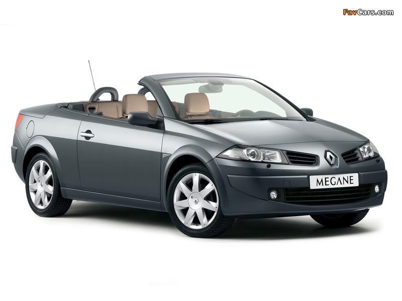 Renault Megane CC 2006–10 photos (800 x 600)