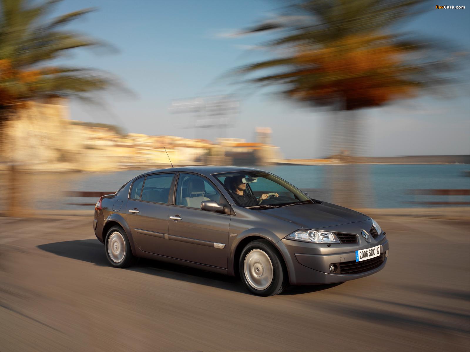 Renault Megane Classic 2006–09 photos (1600 x 1200)