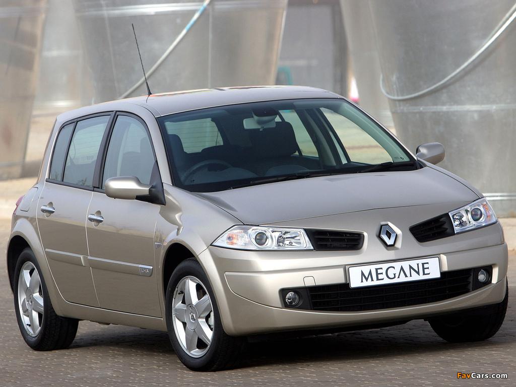Renault Megane 5-door ZA-spec 2006–09 pictures (1024 x 768)
