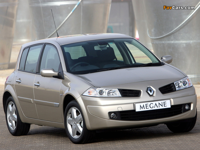 Renault Megane 5-door ZA-spec 2006–09 pictures (640 x 480)
