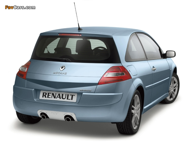 Renault Megane GT 3-door 2006–09 wallpapers (640 x 480)