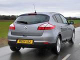 Renault Mégane UK-spec 2008–12 photos