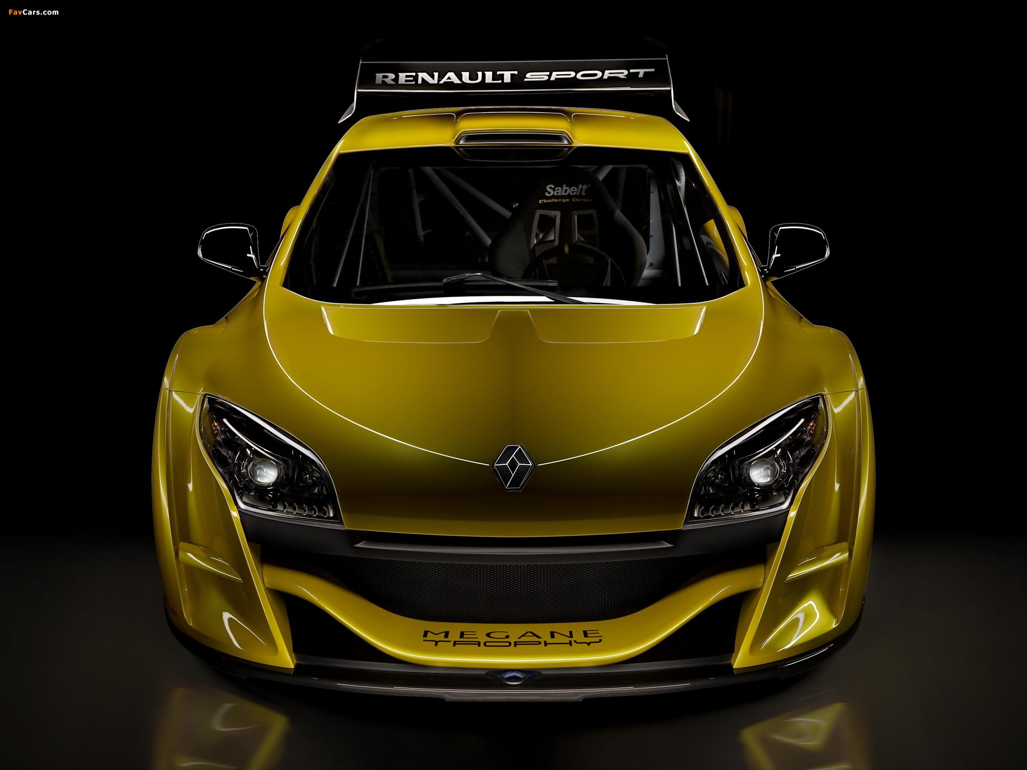 Renault Mégane Trophy 2009–11 photos (2048 x 1536)