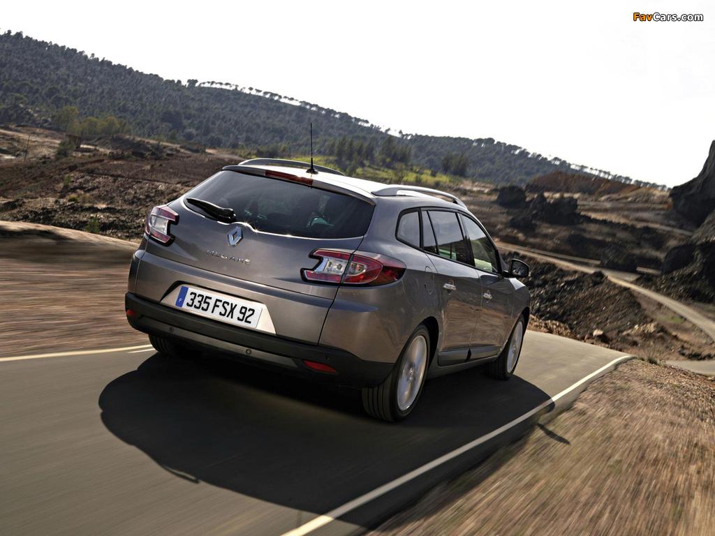 Renault Megane Grandtour 2009 pictures (1024 x 768)