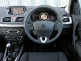 Renault Mégane Coupé UK-spec 2009–12 pictures