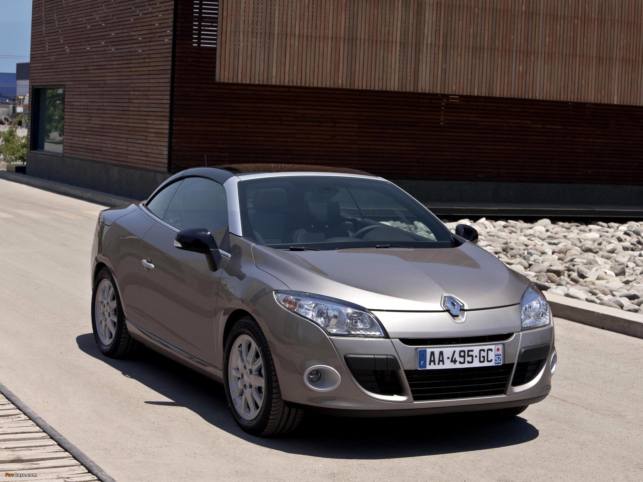 Renault Mégane Coupé-Cabriolet 2010–14 images (2048 x 1536)