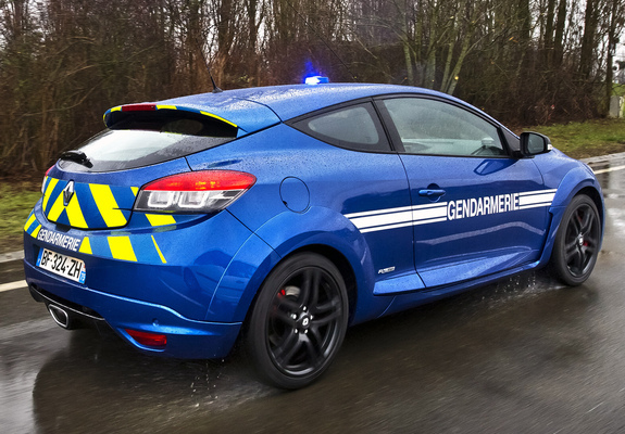 renault megane rs gendarmerie 2010 photos. Black Bedroom Furniture Sets. Home Design Ideas