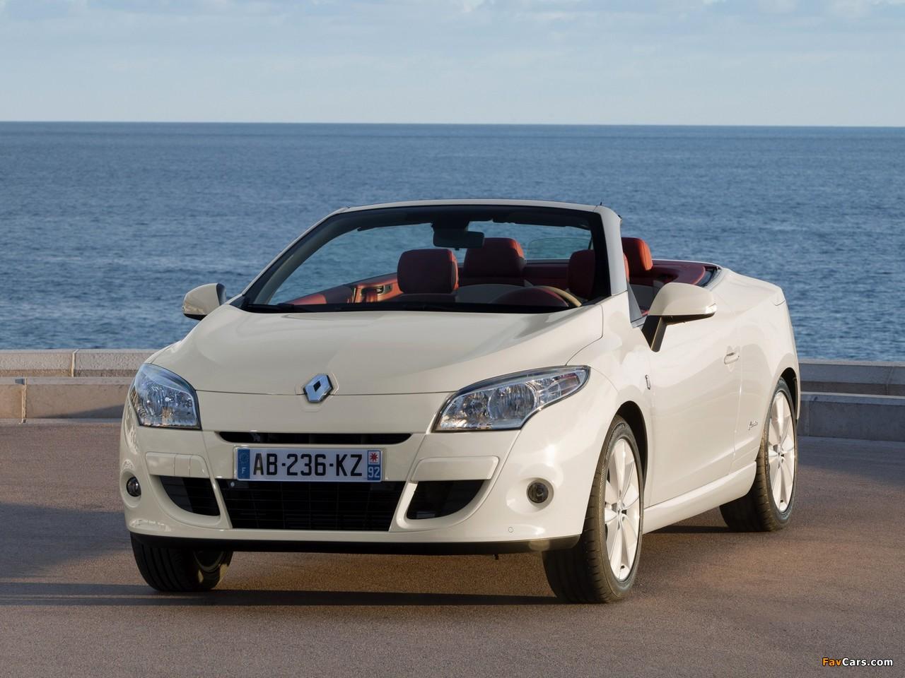 Renault Mégane Coupé-Cabriolet Floride 2011–12 photos (1280 x 960)