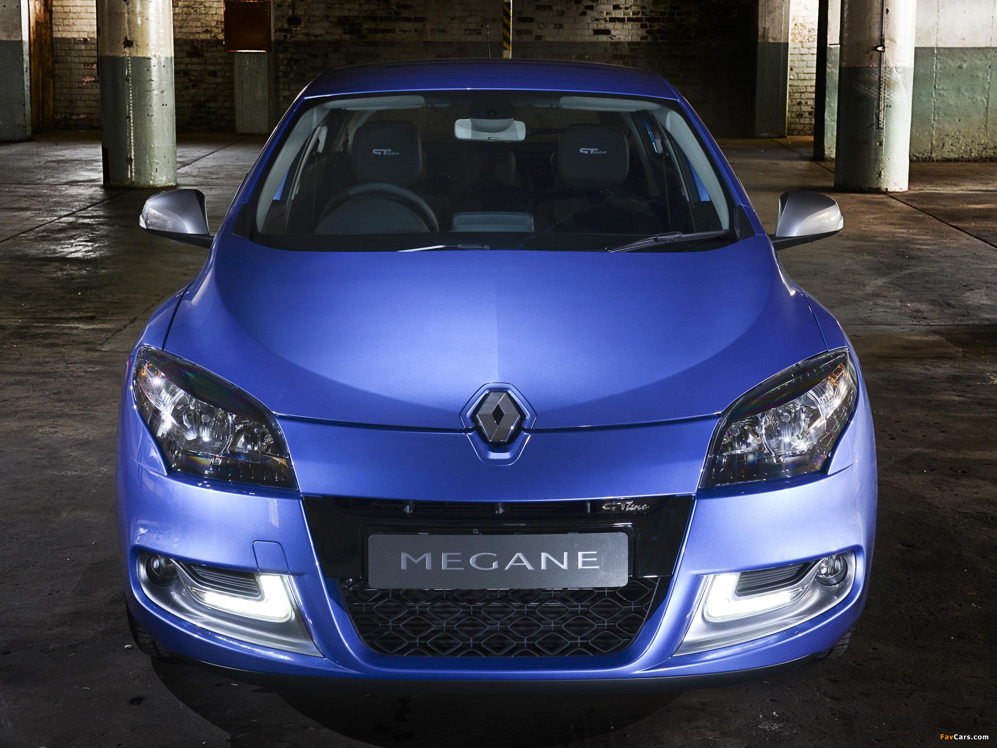 Renault Mégane GT Line ZA-spec 2012–14 images (2048 x 1536)