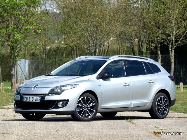 Renault Mégane Estate Bose 2012 pictures (640 x 480)