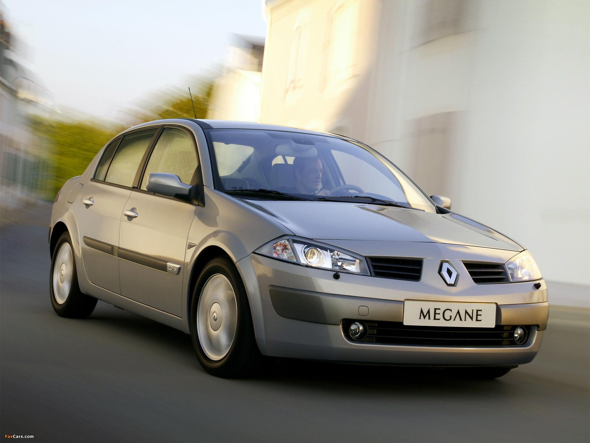 Renault Megane Classic 2003–06 wallpapers (2048 x 1536)