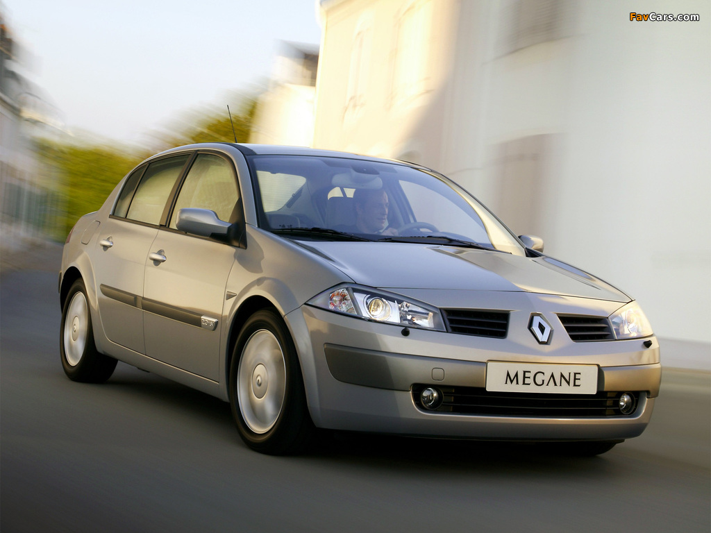 Renault Megane Classic 2003–06 wallpapers (1024 x 768)