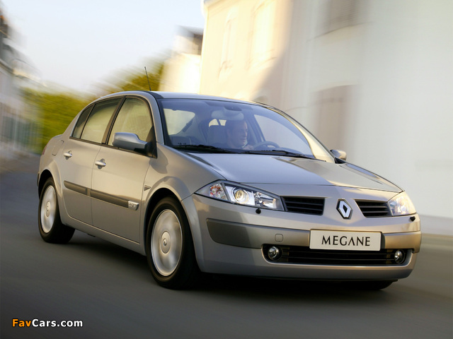 Renault Megane Classic 2003–06 wallpapers (640 x 480)