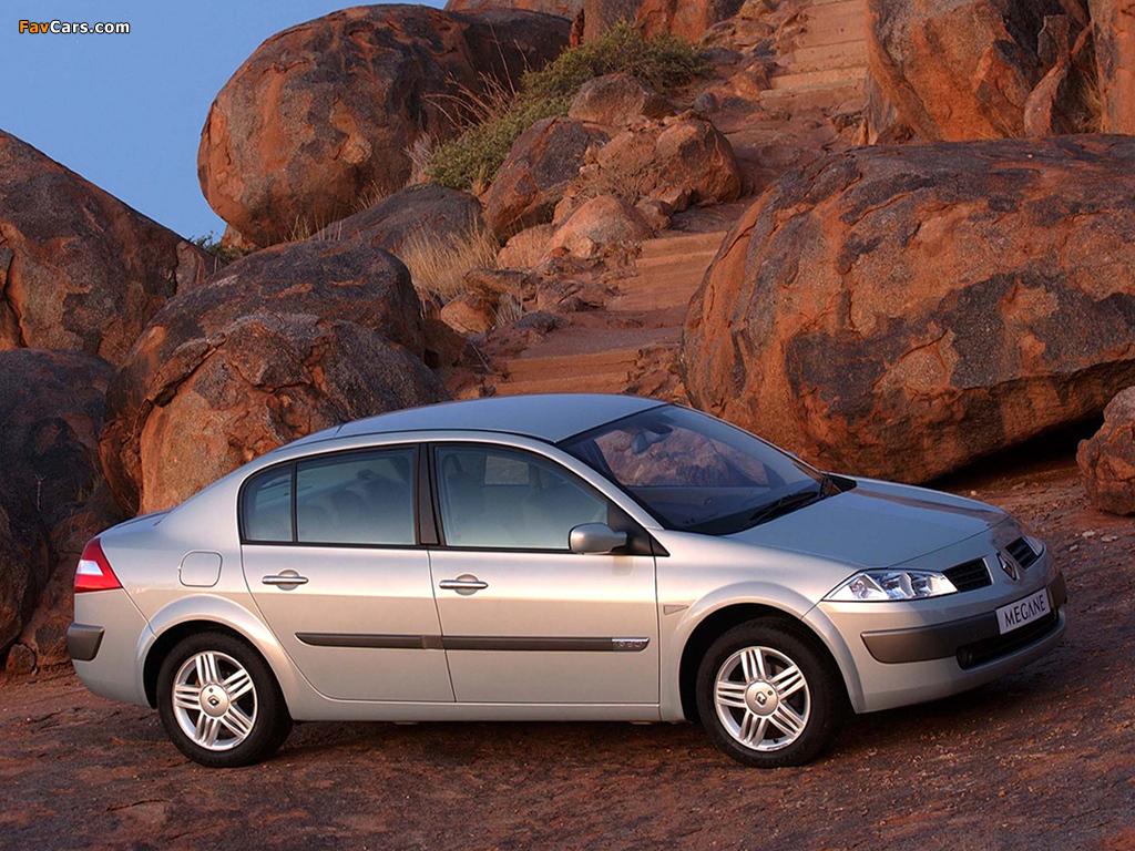 Renault Megane Classic ZA-spec 2003–06 wallpapers (1024 x 768)