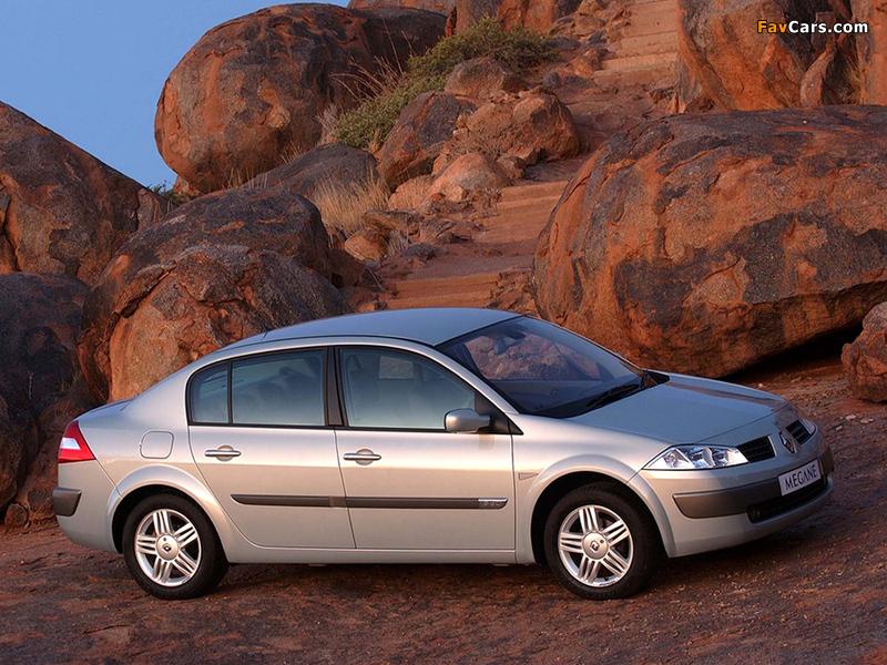Renault Megane Classic ZA-spec 2003–06 wallpapers (800 x 600)
