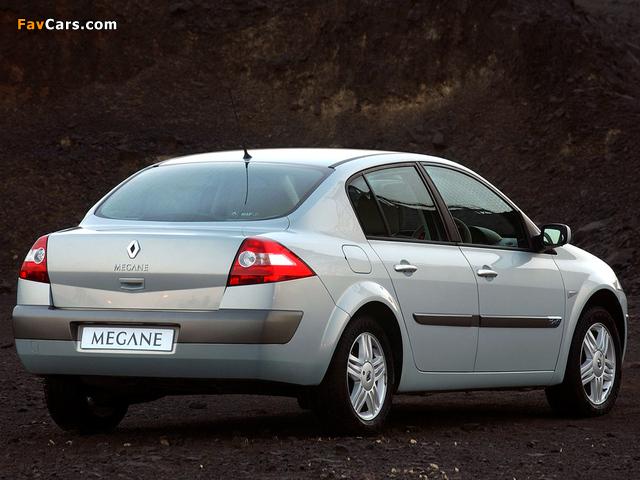 Renault Megane Classic ZA-spec 2003–06 wallpapers (640 x 480)