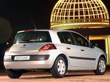 Renault Megane 5-door ZA-spec 2003–06 wallpapers