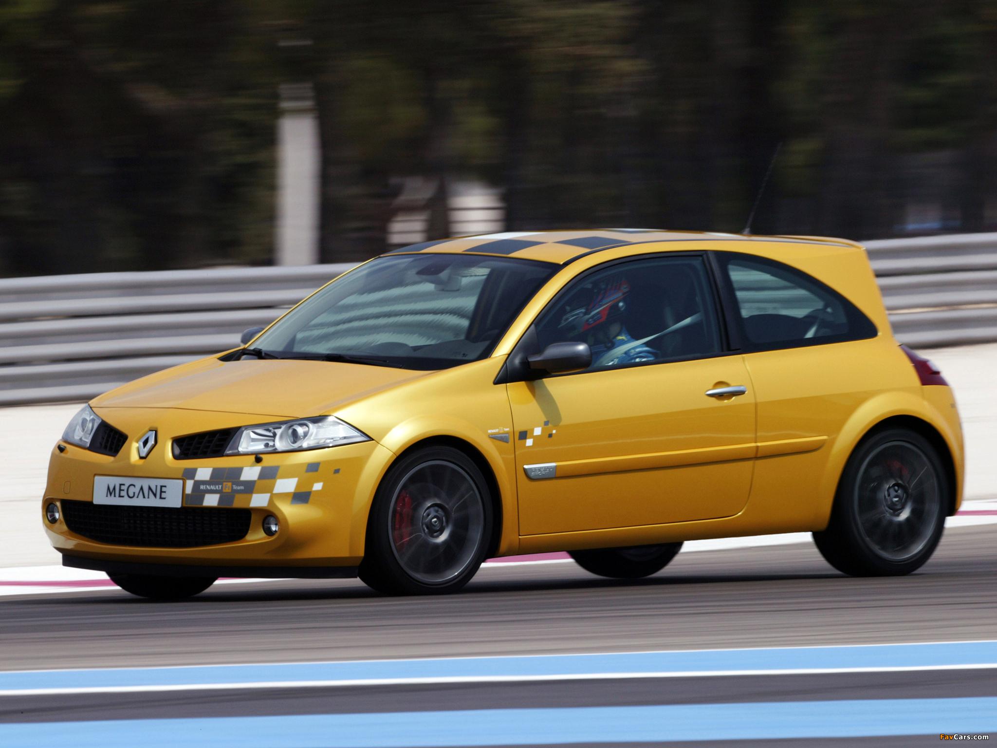 Renault Megane RS F1 Team 2006 wallpapers (2048 x 1536)