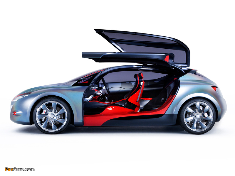 Renault Megane Coupe Concept 2008 wallpapers (800 x 600)