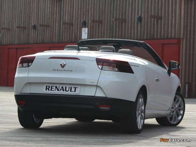 Renault Mégane Coupé-Cabriolet 2010–14 wallpapers (640 x 480)