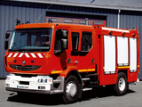 Renault Midlum Crew Cab 4x2 Firetruck 2006–13 pictures