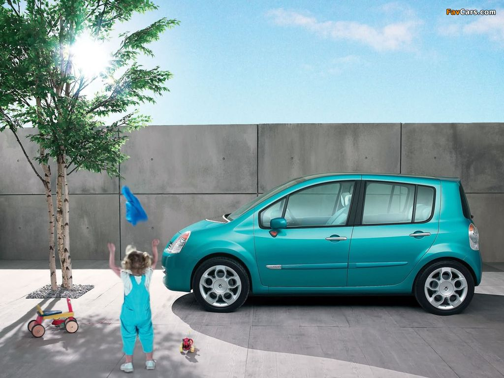 Photos of Renault Modus 2004–07 (1024 x 768)