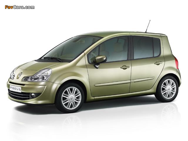 Photos of Renault Modus 2008–12 (640 x 480)