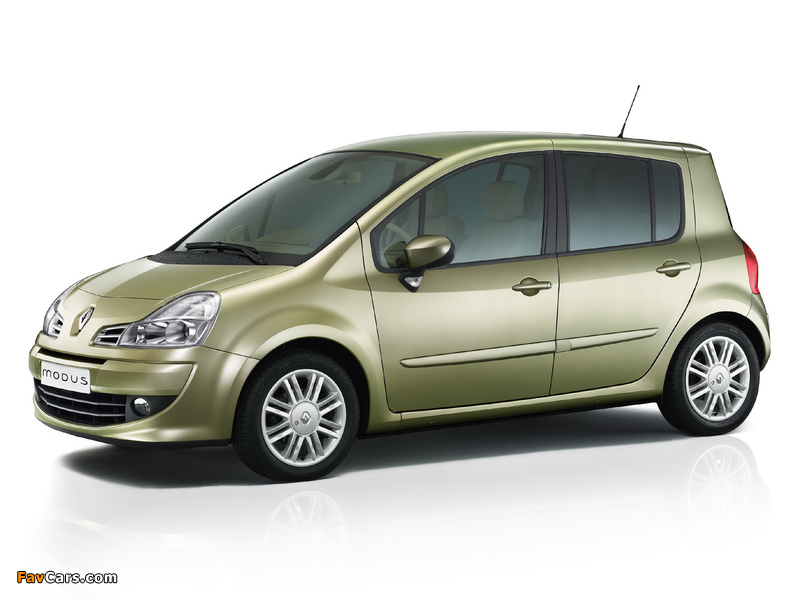 Photos of Renault Modus 2008–12 (800 x 600)