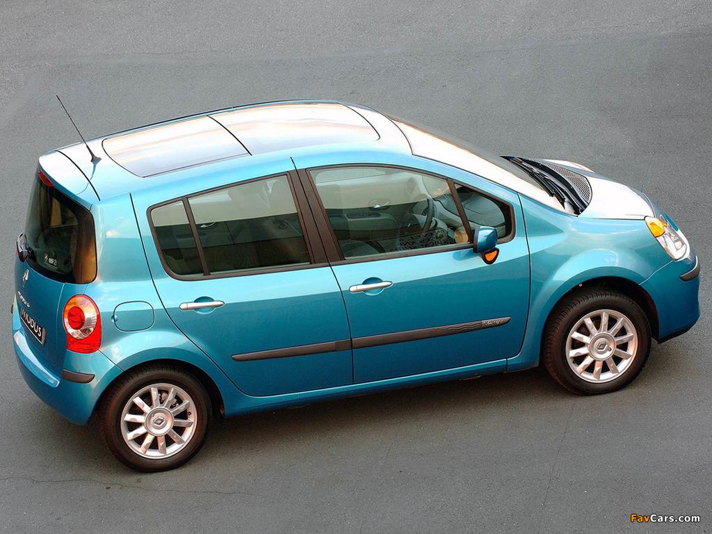 Renault Modus ZA-spec 2005–07 photos (1024 x 768)