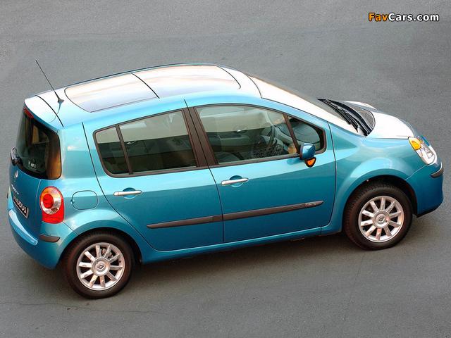 Renault Modus ZA-spec 2005–07 photos (640 x 480)