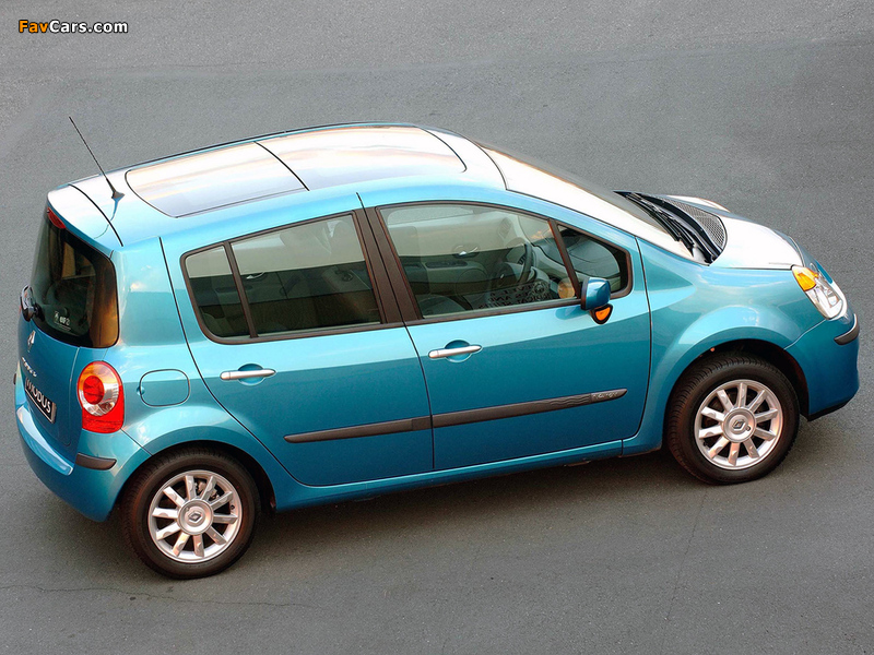Renault Modus ZA-spec 2005–07 photos (800 x 600)