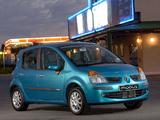 Renault Modus ZA-spec 2005–07 pictures