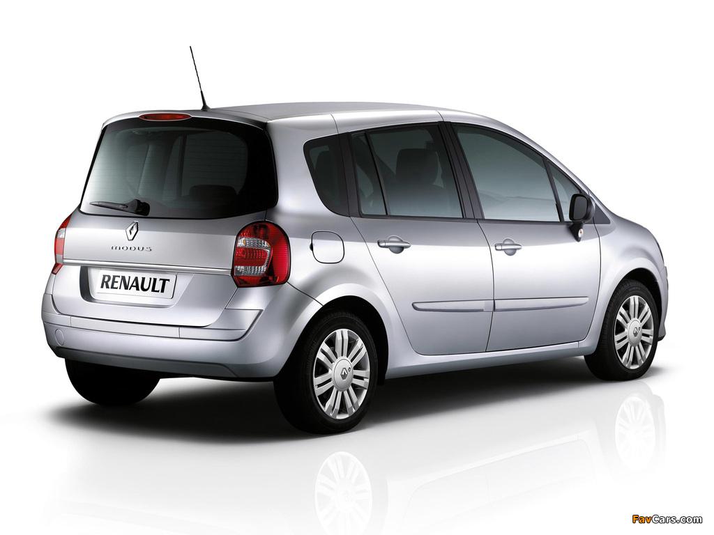 Renault Grand Modus UK-spec 2007 pictures (1024 x 768)