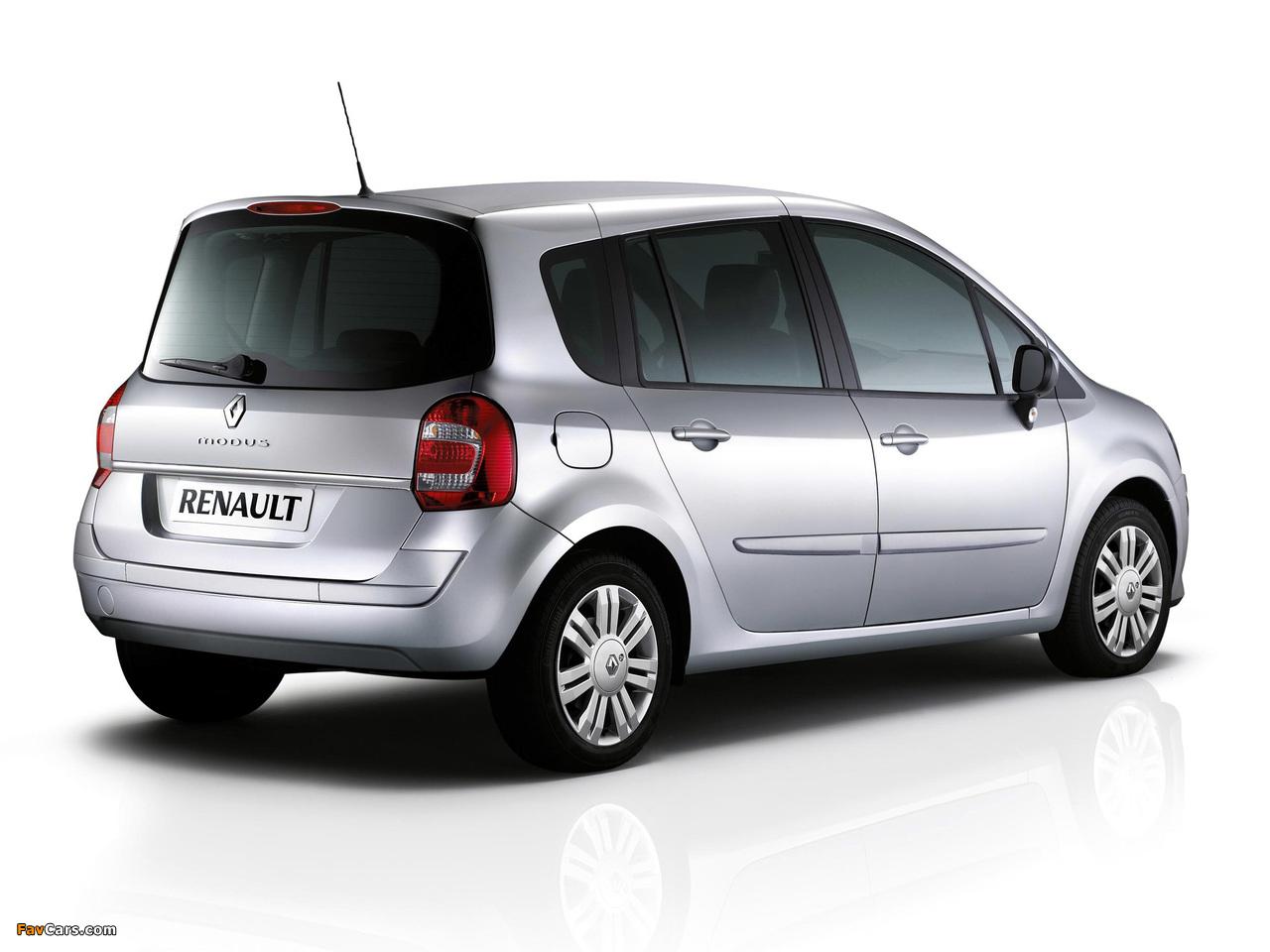 Renault Grand Modus UK-spec 2007 pictures (1280 x 960)