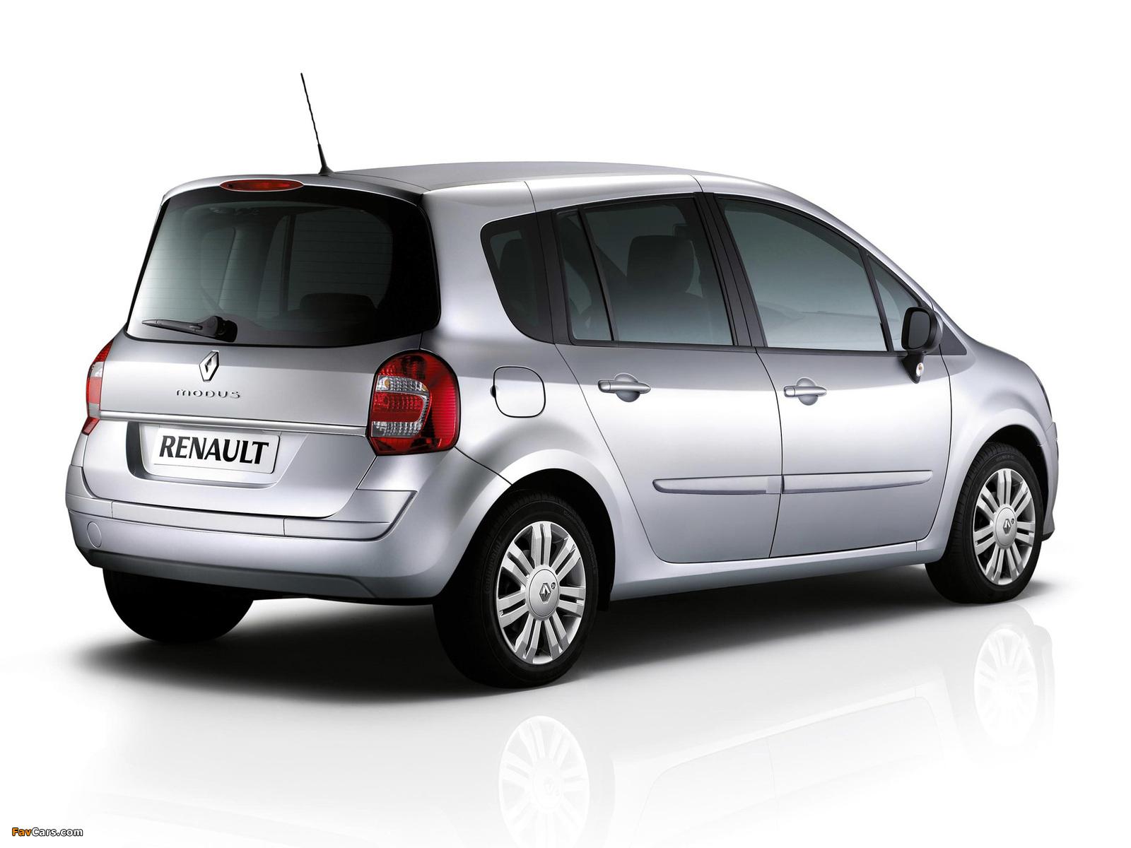 Renault Grand Modus UK-spec 2007 pictures (1600 x 1200)