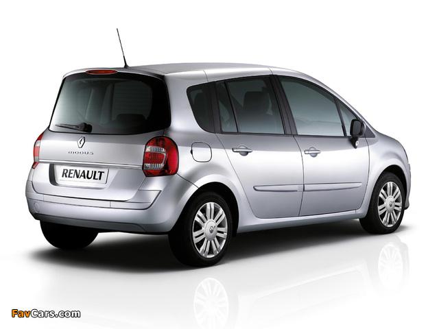 Renault Grand Modus UK-spec 2007 pictures (640 x 480)