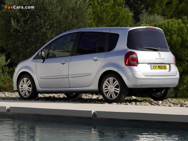 Renault Grand Modus UK-spec 2007 wallpapers (640 x 480)