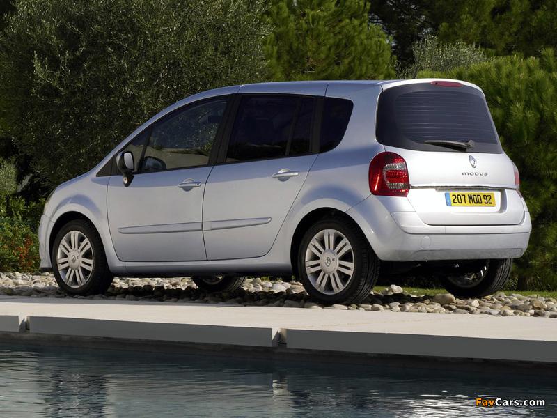 Renault Grand Modus UK-spec 2007 wallpapers (800 x 600)