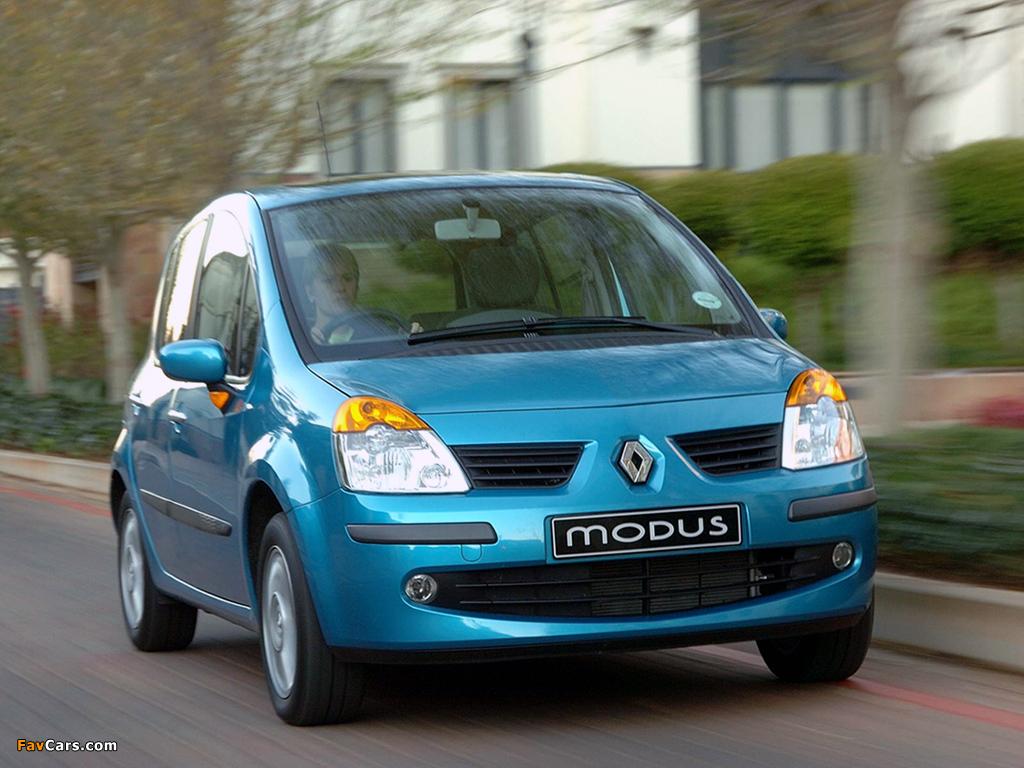 Renault Modus ZA-spec 2005–07 wallpapers (1024 x 768)