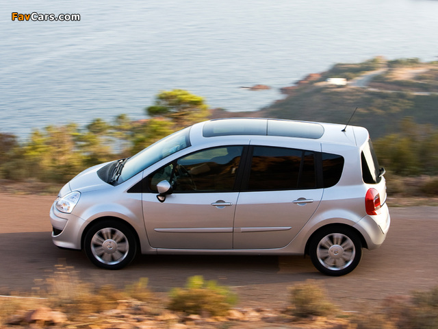 Renault Grand Modus 2007 wallpapers (640 x 480)