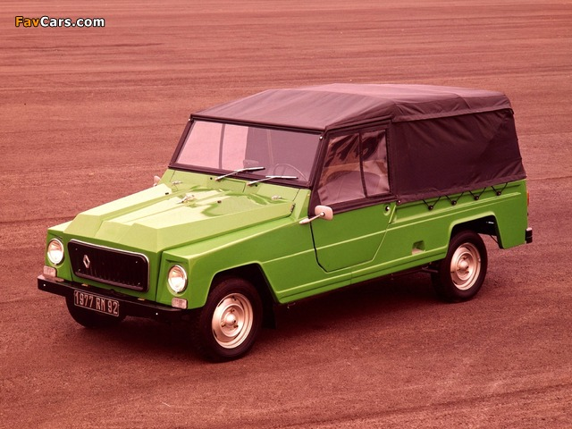 Renault Rodeo 4 1970–81 wallpapers (640 x 480)